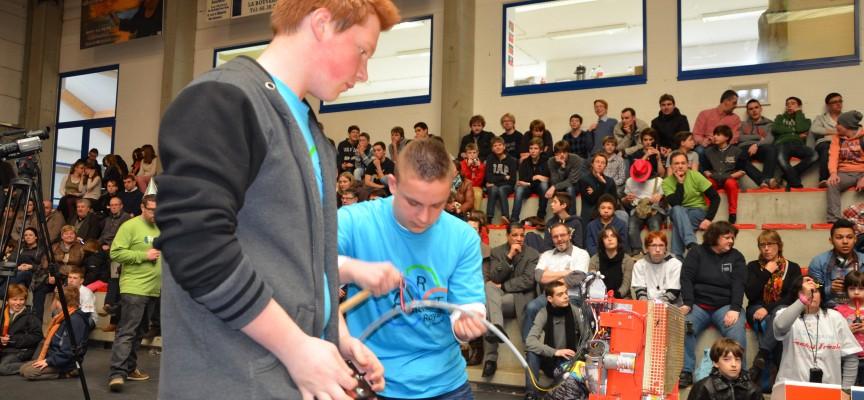 Au Pass, les Trophées de robotique mobilisent chaque année des centaines de jeunes belges et français.