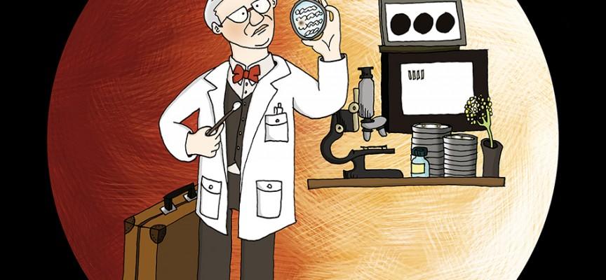 Alexander Fleming, le père de la pénicilline. ©C.Monnoye.