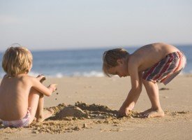 Expériences pour enfants à la plage