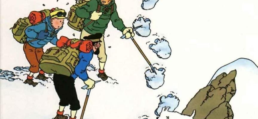 Tintin au Tibet a popularisé l'énigme du yéti.