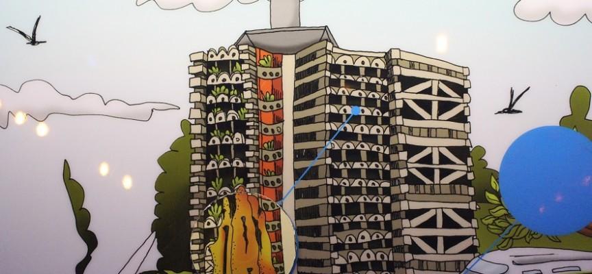 Quand les termites fascinent les architectes (illustration C.Monnoye).