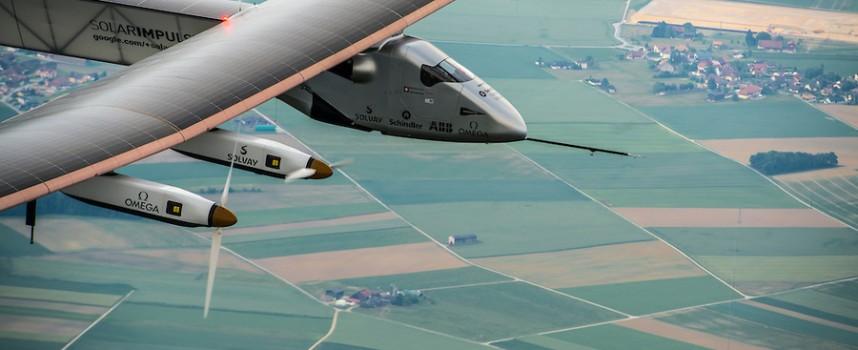 Carnet de route de l'avion solaire