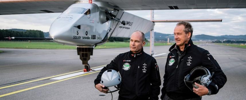 Le Solar Impulse s'apprête à faire le tour du monde