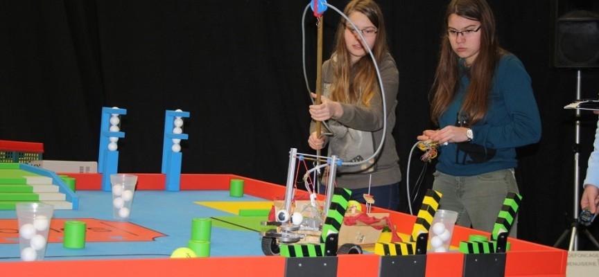 Les filles aussi s'intéressent à la robotique!