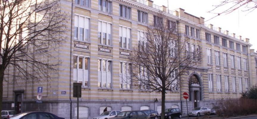 Le bâtiment du Bd Sainctelette à Mons (ph.HVS).
