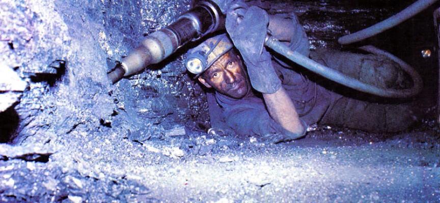Un film sur le travail au fond de la mine.