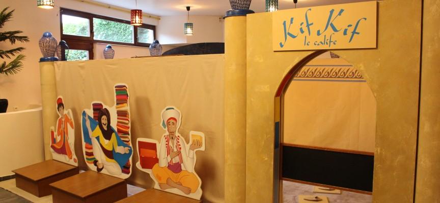 Le palais de Kif Kif le calife fera aimer les maths aux petits.