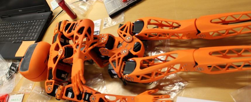 Poppy, le robot imprimé en 3D