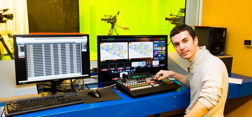 Neil est passé du studio télé du Pass à ceux de RTL-TVi.