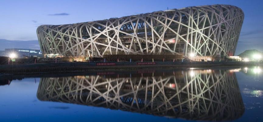 Le Stade National de Pekin, surnommé