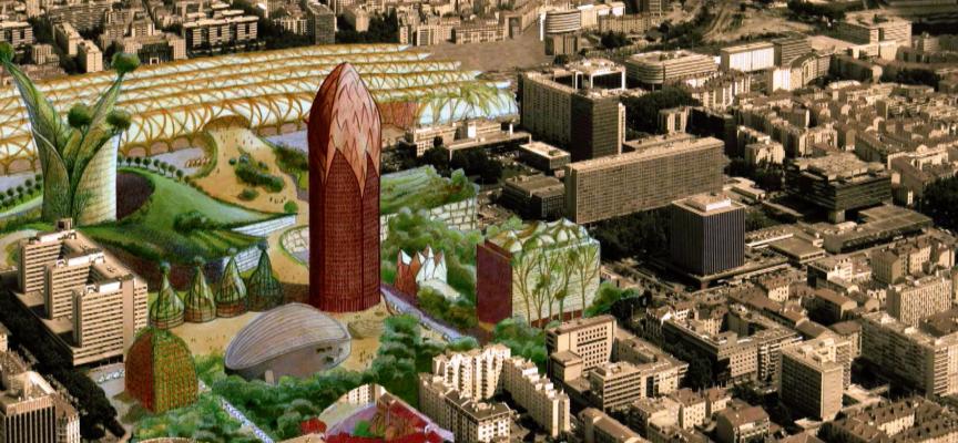 La ville idéale selon Luc Schuiten.