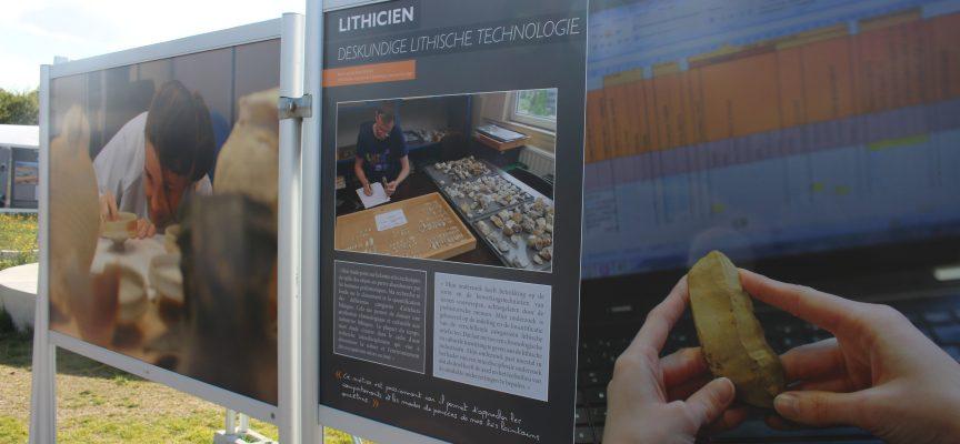 Une exposition pour découvrir la diversité des métiers qui se cachent derrière l'archéologie.