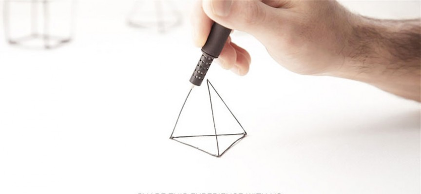 Passez de la 2D à la 3D grâce au stylo Lix