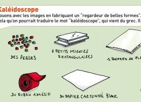 Fabrique ton kaléidoscope
