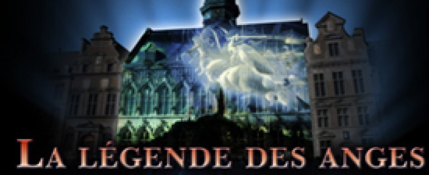 La légende des Anges investit la Grand Place de Mons