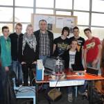 Les participants du club électronique montois en 2014