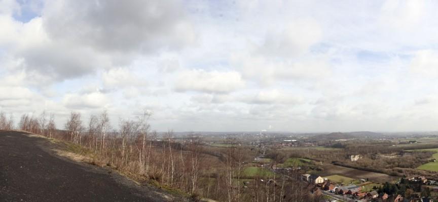 Là haut, la vue sur la région est magnifique!