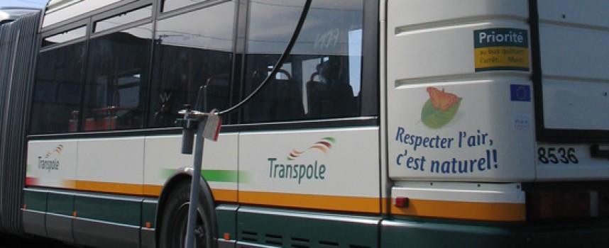 Quand les déchets prennent le bus