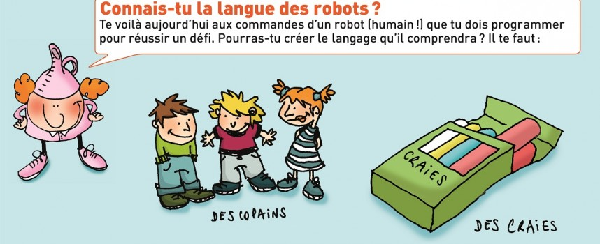 La langue des robots