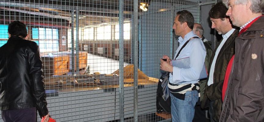 Au Pass, dans l'exposition consacrée à l'histoire des charbonnages.