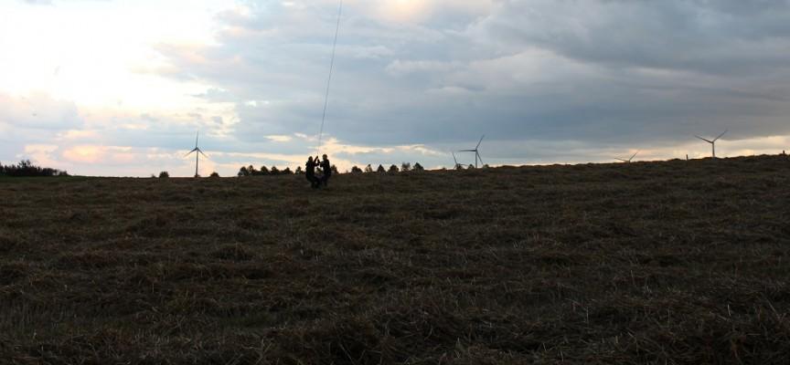 Les éoliennes telles qu'on est habitué à les voir chez nous.