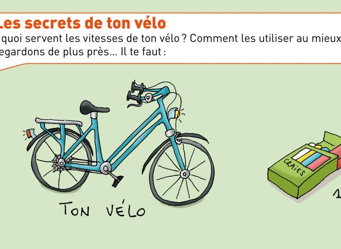 Ton vélo, une machine simple!