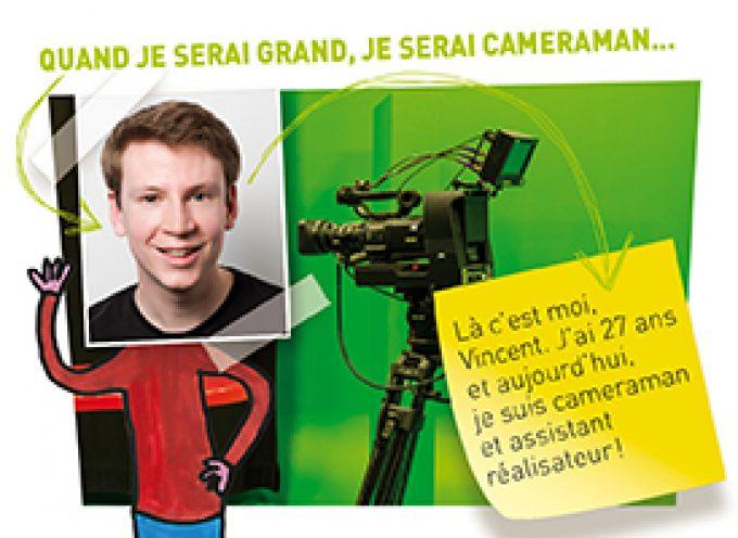 Vincent, passion caméras