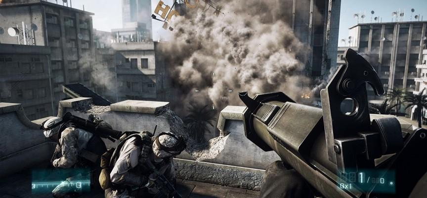 Battle Field 3 et son époustouflant moteur physique permet des destructions de grande envergure.