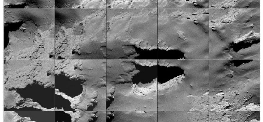 L'atterrissage de Rosetta (ph.ESA)
