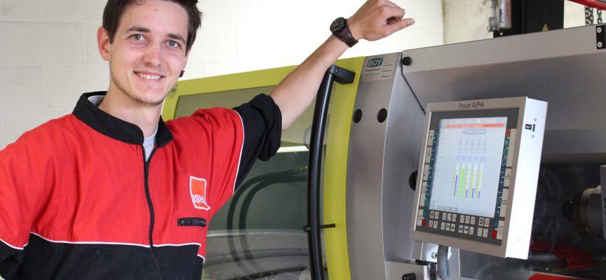 Quentin Depaye est le professeur principal des élèves en plasturgie de l'AR de Châtelet.