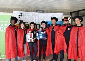Les Monsquetaires, champions européens de robotique!