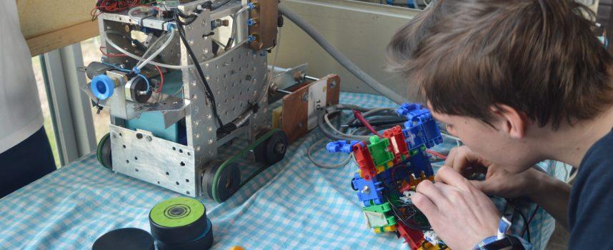Un an pour concevoir un robot