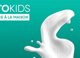 Tuto Kids : du lait au plastique !